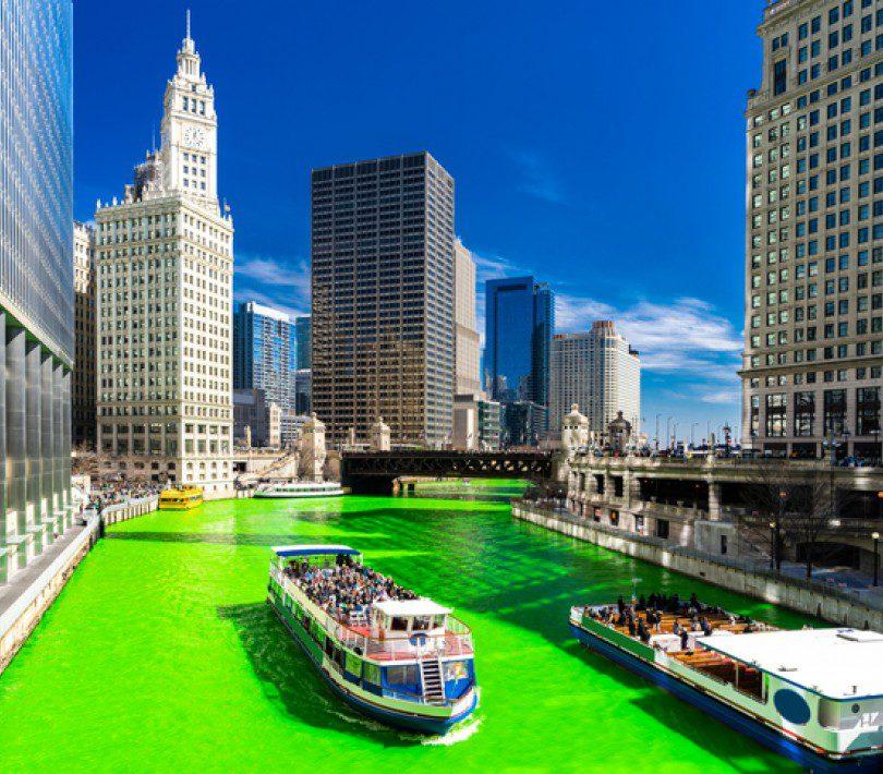 Celebrate Saint Patrick's Day in Chicago